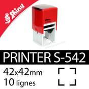Tampon encreur Shiny Printer S-542