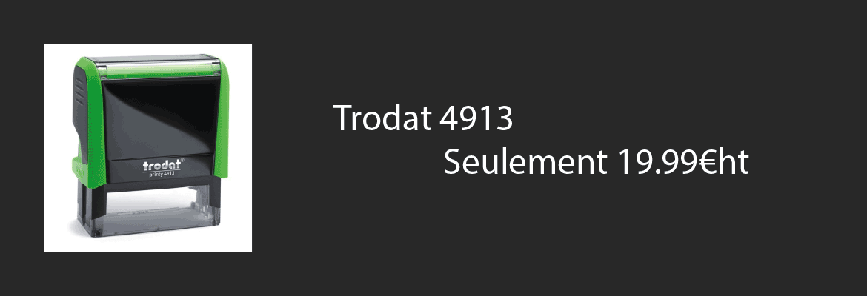 Trodat 4913 pas cher