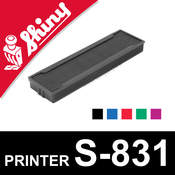 Cassette encrage Shiny Printer S-831