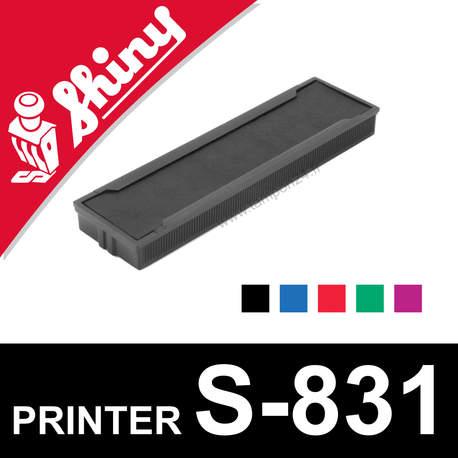 Cassette encrage Shiny Printer S-831