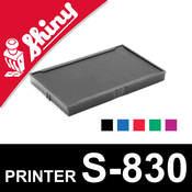 Cassette d'encrage pour Shiny Printer S-830