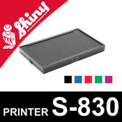 Cassette encrage Shiny Printer S-830