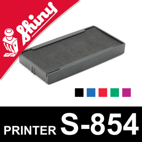 Cassette encrage Shiny Printer S-854