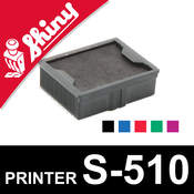 Cassette d'encrage pour Shiny Printer S-510