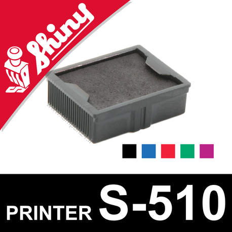 Cassette encrage Shiny Printer S-510