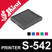 Cassette d'encrage pour Shiny Printer S-542