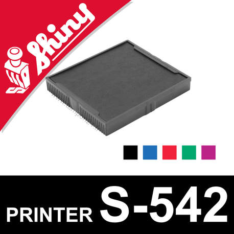 Cassette encrage Shiny Printer S-542