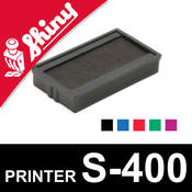 Cassette d'encrage pour Shiny Printer S-400