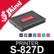Cassette d'encrage pour Shiny Printer S-827D