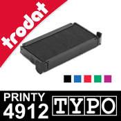 Encrage Trodat Printy 4912 Typo