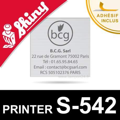 Empreinte Shiny Printer S-542