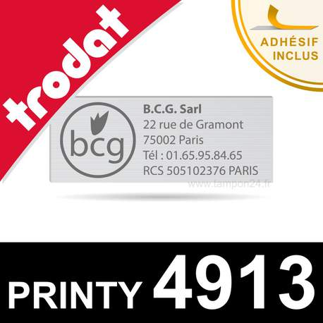Empreinte Trodat Printy 4913