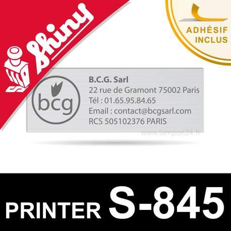 Empreinte Shiny Printer S-845