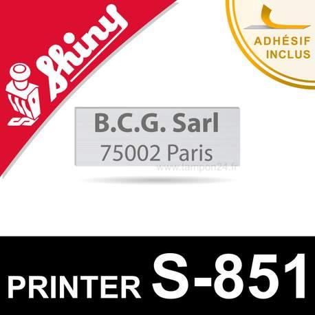 Empreinte Shiny Printer S-851