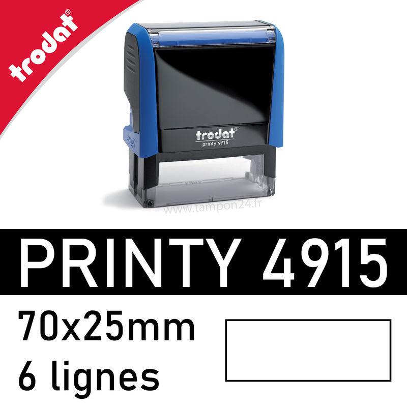 cassettes d/'encrage de  remplacement noire   6//4915 recharge tampon trodat 4915