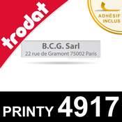 Empreinte Trodat Printy 4917