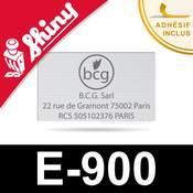 Empreinte Shiny E-900