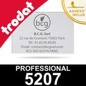 Empreinte pour Trodat Professional 5207