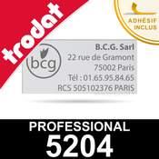 Empreinte pour Trodat Professional 5204