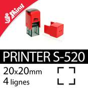 Tampon encreur Shiny Printer S-520