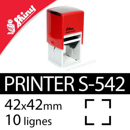 Tampon encreur Shiny Printer S-542