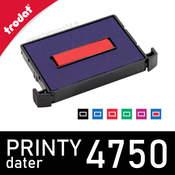 Cassette d'encrage dateur Trodat Printy 4750