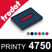 Cassette d'encrage pour dateur Trodat Printy 4750