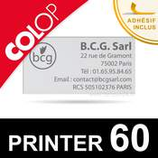 Empreinte pour Colop Printer 60