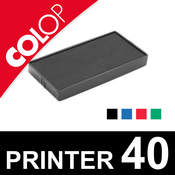 Cassette d'encrage pour Colop Printer 40