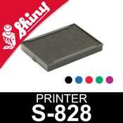 Cassette encrage pour Shiny Printer S-828