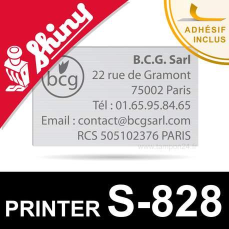Empreinte pour Shiny Printer S-828