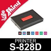 Cassette d'encrage pour Shiny Printer S-828D