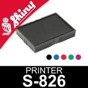 Cassette d'encrage pour Shiny Printer S-826