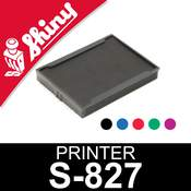 Cassette d'encrage pour Shiny Printer S-827