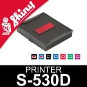 Cassette d'encrage dateur Shiny Printer S-530D