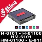 Cassette d'encrage Shiny réf 6101-7 et 6001-7