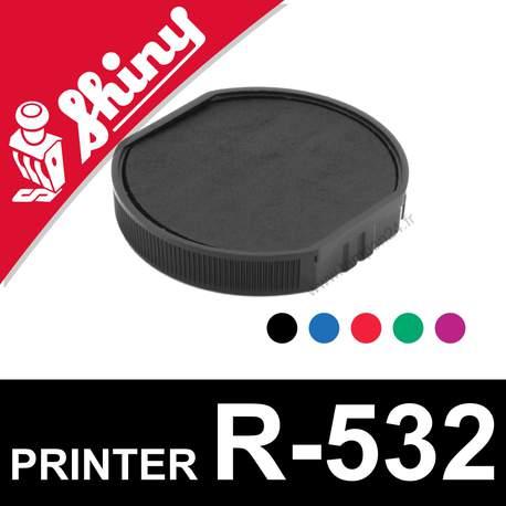 Cassette d'encrage pour Shiny Printer R-532