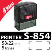 Tampon personnalisable Shiny Printer S-854