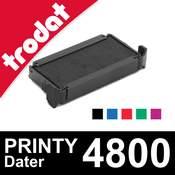 Cassette d'encrage pour tampon Trodat Printy Dater 4800