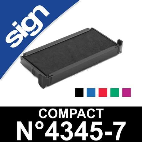 XXXL recharge tampon POCKET NEW N°8 format 75 x 40 mm couleur noire