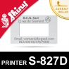 Empreinte pour dateur Shiny Printer S-827D