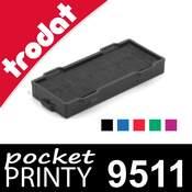 Cassette d'encrage pour Trodat Pocket Printy 9511