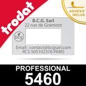Empreinte pour dateur Trodat Professional 5460