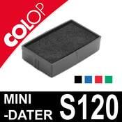 Cassette d'encrage pour Colop mini-dater S120