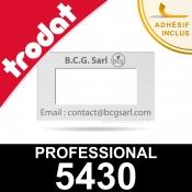 Empreinte pour dateur Trodat Professional 5430